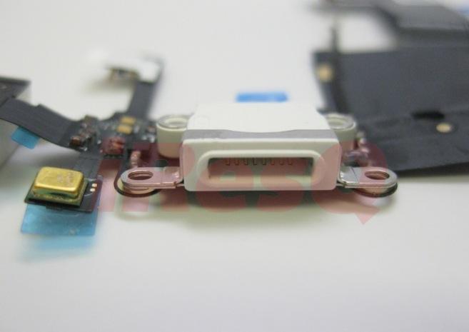 iphone 5 8 pin11 2 - iPhone 5 : nouvelles photos du nouveau connecteur dock