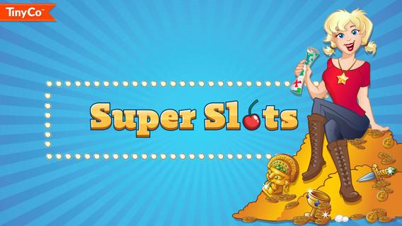 Super Slots : un superbe jeu de machine à sous pour iPhone