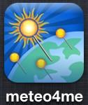 meteo4me 126x150 - [Tests] Les meilleures applications météo iPhone