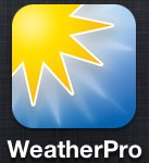 weatherpro 137x150 - [Tests] Les meilleures applications météo iPhone