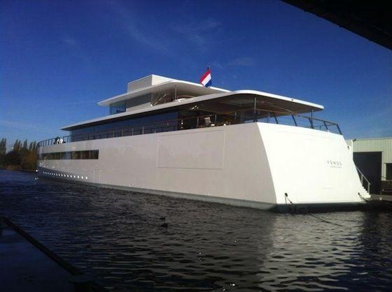 « Venus » : le bateau Apple de Steve Jobs