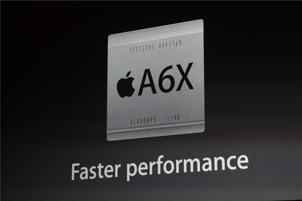 A6X de l'iPad 4 : caractéristiques de la puce