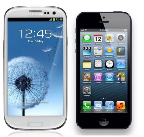 iPhone 5 : un trafic web déjà supérieur au Samsung Galaxy S3 !