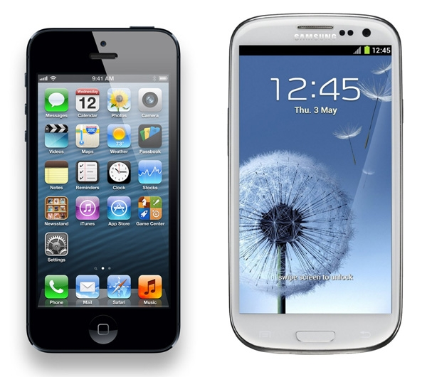 L'iPhone 5 et le Galaxy S3 en tête-à-tête … dans un mixeur !