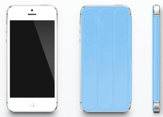 Concept : Smart Cover iPhone 5