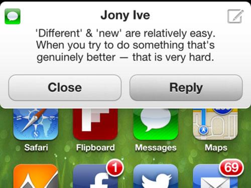 concept notifications sms 2 - iPhone 5 : concept de notifications à la BiteSMS