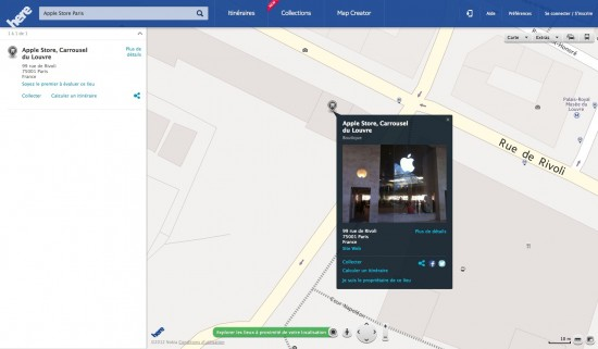 here maps ipad - HERE : la cartographie Nokia sur iPhone, iPad et iPod Touch