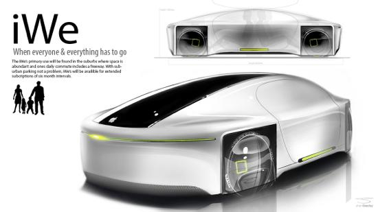 iGo iWe - iGo : les concept cars Apple