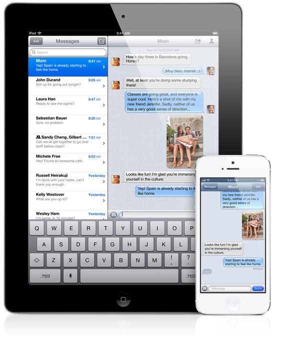 iMessage : comment rendre fous ses contacts ?