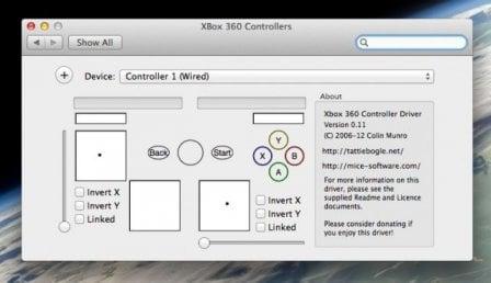 xbox 360 controllers - Utiliser sa manette Xbox 360 sur son Mac !