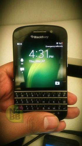 Blackberry X10 : premières photos