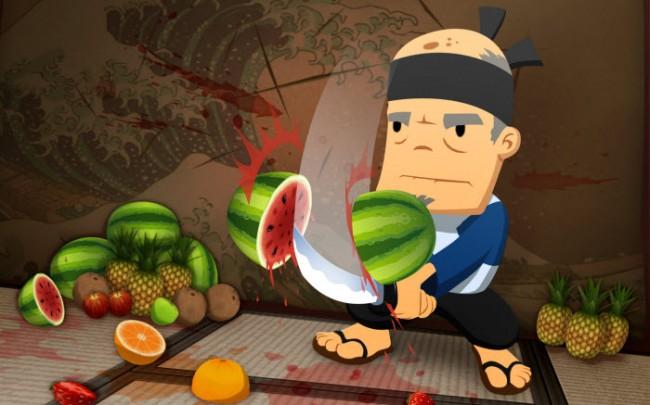 Vidéo : Fruit Ninja dans la vraie vie en Dubstep