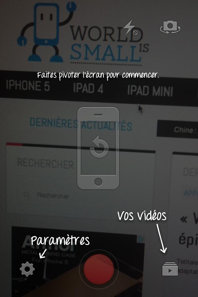 app capture - YouTube Capture : la nouvelle application iOS de Google