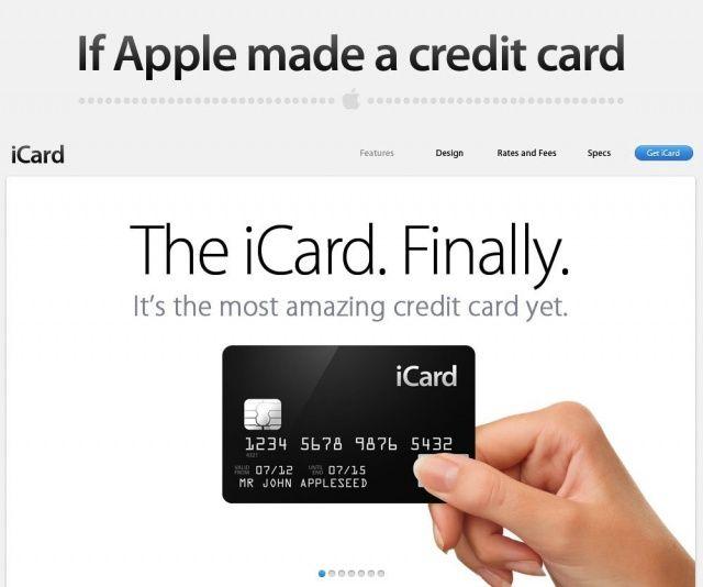 iCard : la future carte de crédit Apple ?