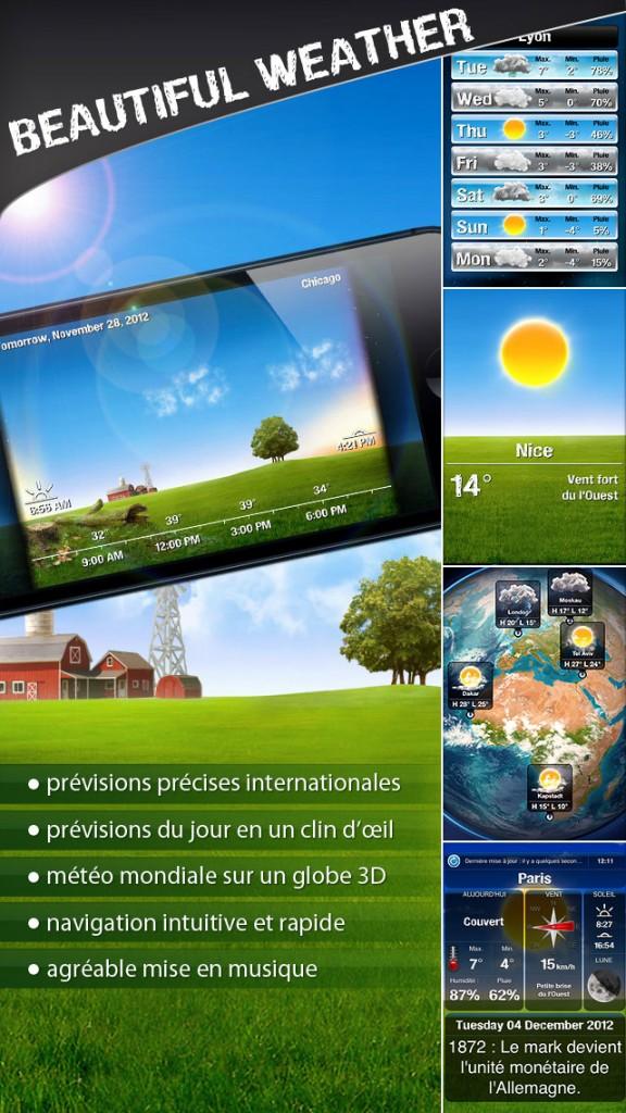 beautiful weather iphone 1 576x1024 - Beautiful Weather : une sublime application météo iPhone & iPad