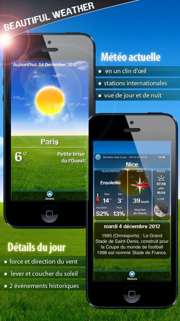 beautiful weather iphone 2 576x1024 - Beautiful Weather : une sublime application météo iPhone & iPad