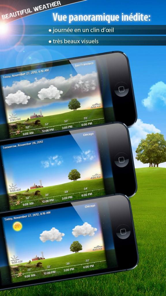 beautiful weather iphone 3 576x1024 - Beautiful Weather : une sublime application météo iPhone & iPad