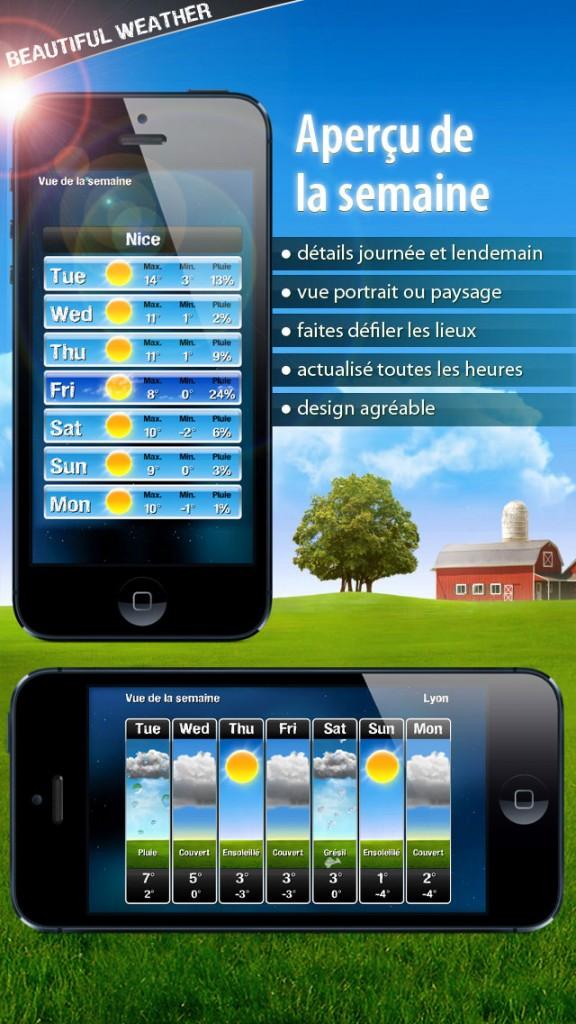 beautiful weather iphone 4 576x1024 - Beautiful Weather : une sublime application météo iPhone & iPad