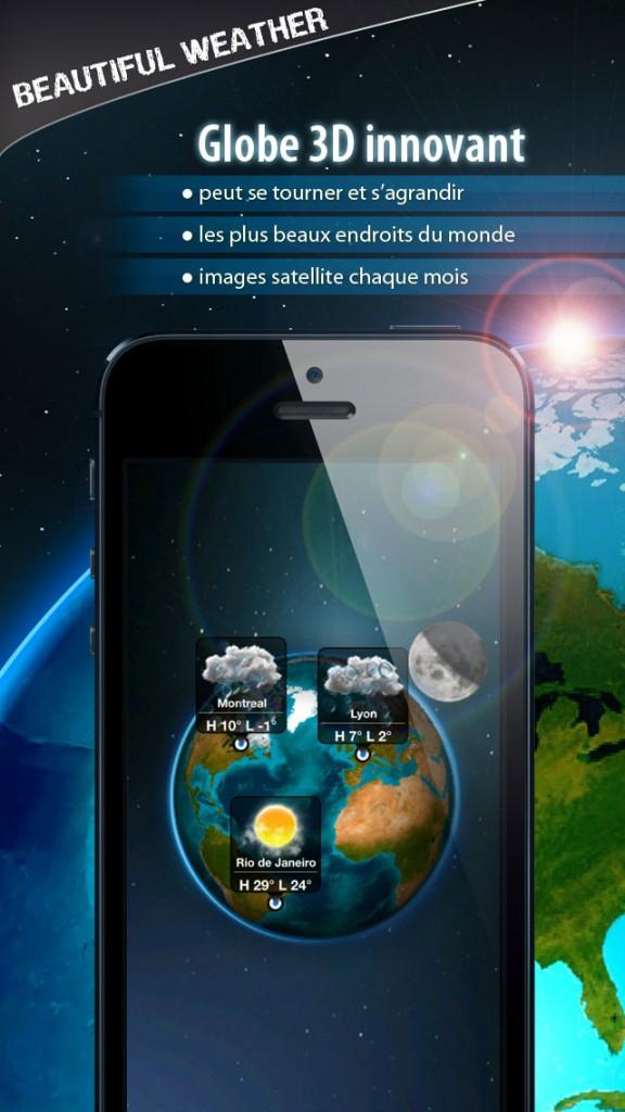 beautiful weather iphone 5 576x1024 - Beautiful Weather : une sublime application météo iPhone & iPad