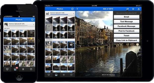 dropbox 20 - Dropbox 2.0 : Nouveau design et un onglet photo