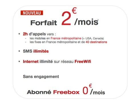 forfait-free-mobile-2-euros