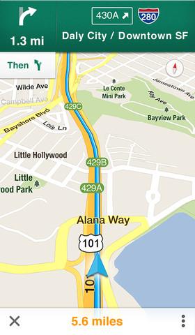 google maps gps - Google Maps iPhone, iPad et iPod Touch de retour !