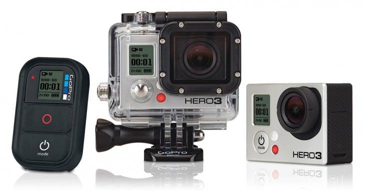 Concours Noël : Gagner une GoPro HERO3