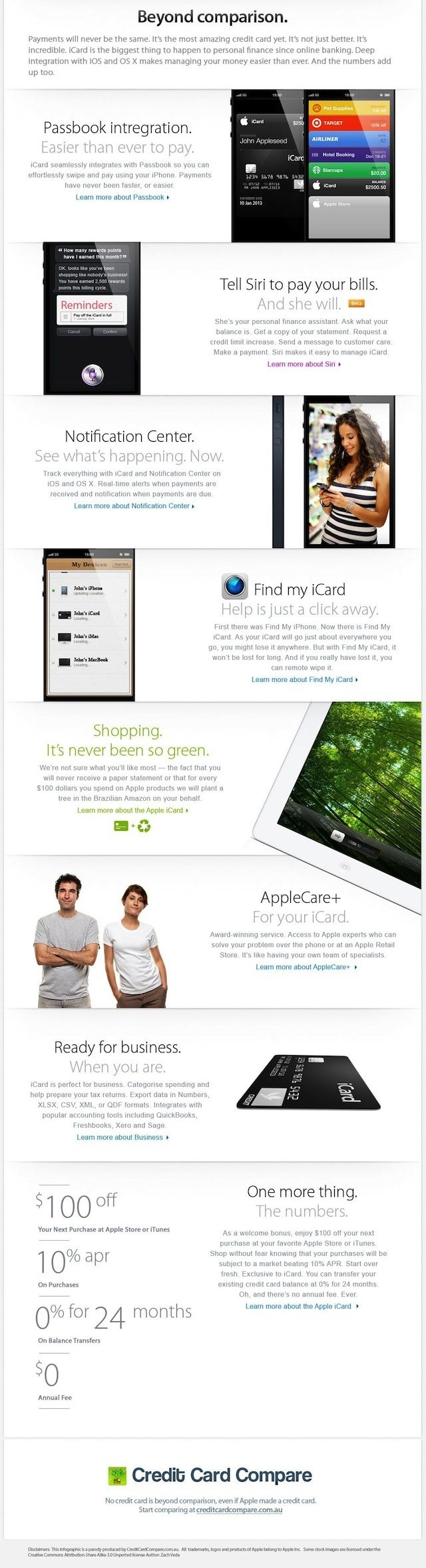 icard - iCard : la future carte de crédit Apple ?