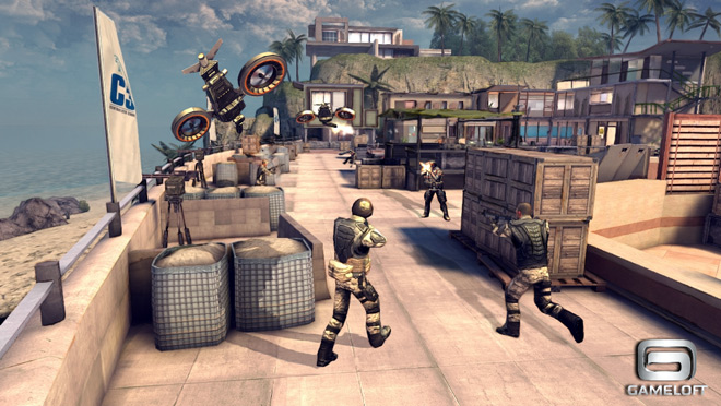 modern combat 4 gameloft - Modern Combat 4 - Zero Hour iPhone : le trailer Gameloft