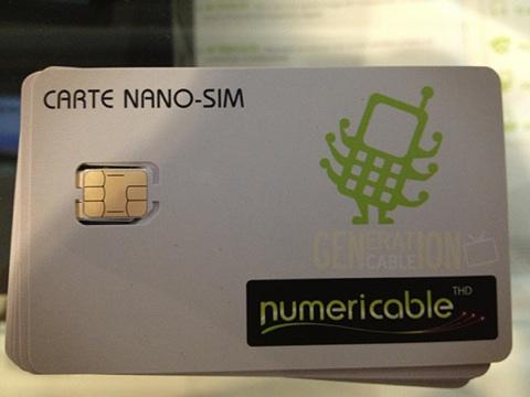 iPhone 5 : la Nano SIM arrive chez Numéricable