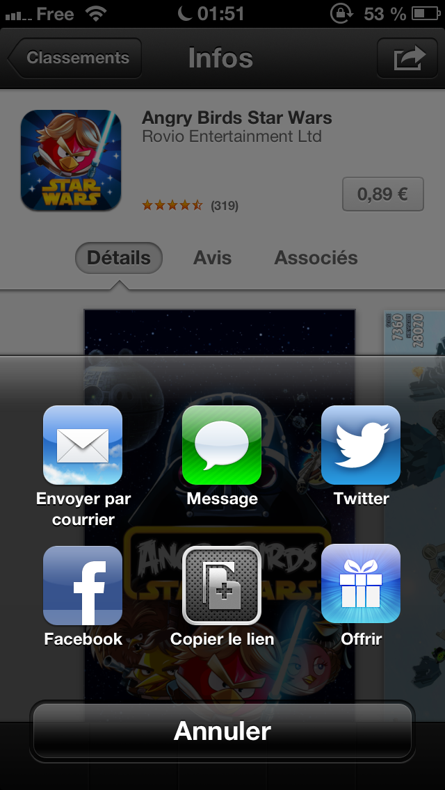 application ios 5 gratuit