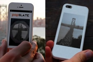 popSLATE : le second écran qui va révolutionner votre iPhone