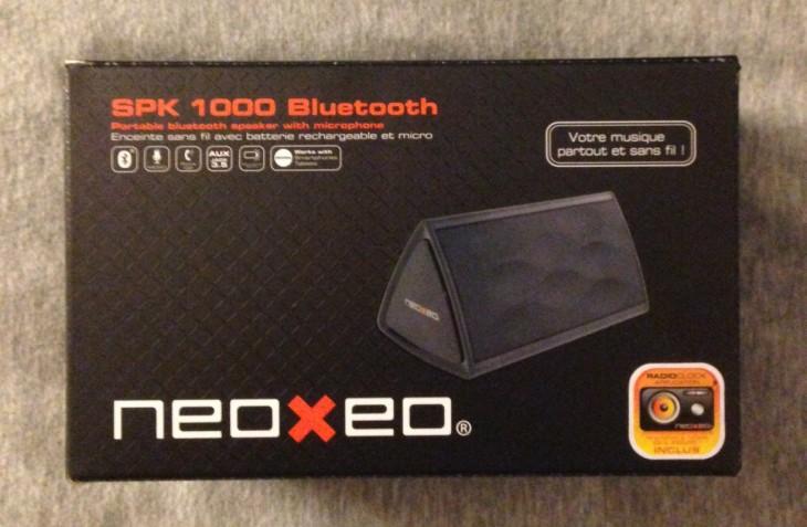 NEOXEO SPK 1000 : l'enceinte Bluetooth à petit prix