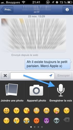 Facebook-Messenger-Message-Vocal