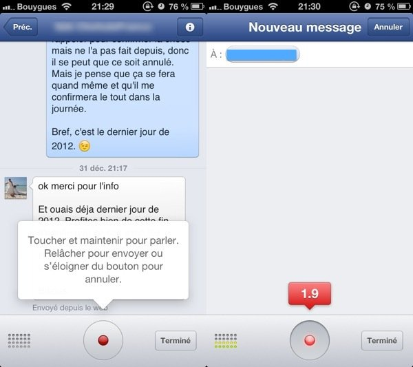 Facebook-Messenger-vocal