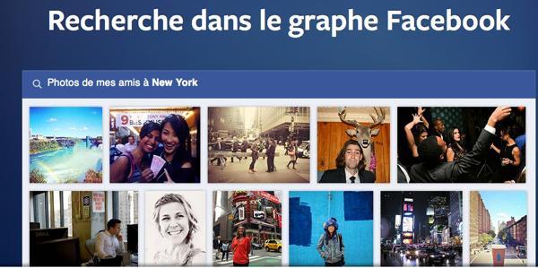 Facebook graphe - Facebook : pas de téléphone mais un moteur de recherche