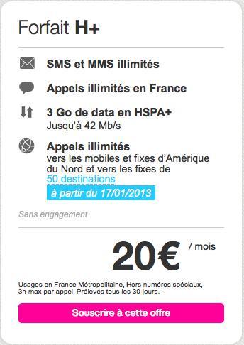 Joe Mobile : un forfait H+ à 20 euros par mois