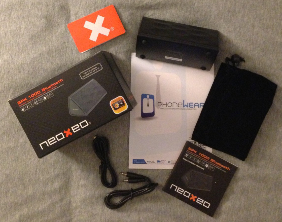 NEOXEO SPK 1000 - NEOXEO SPK 1000 : l'enceinte Bluetooth à petit prix