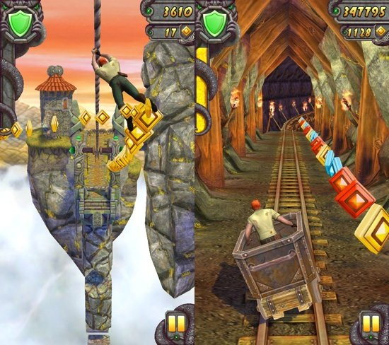 Temple Run : 300 millions de téléchargements