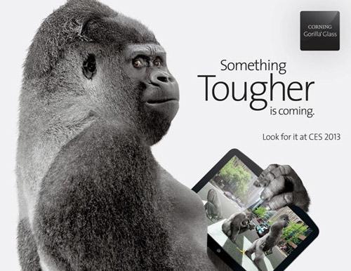 Gorilla Glass 3 : lancement au CES 2013