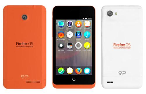 firefox phone - Firefox OS : photo et caractéristiques du Developer Preview Phone