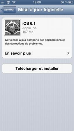 iOS-6.1-mise-a-jour
