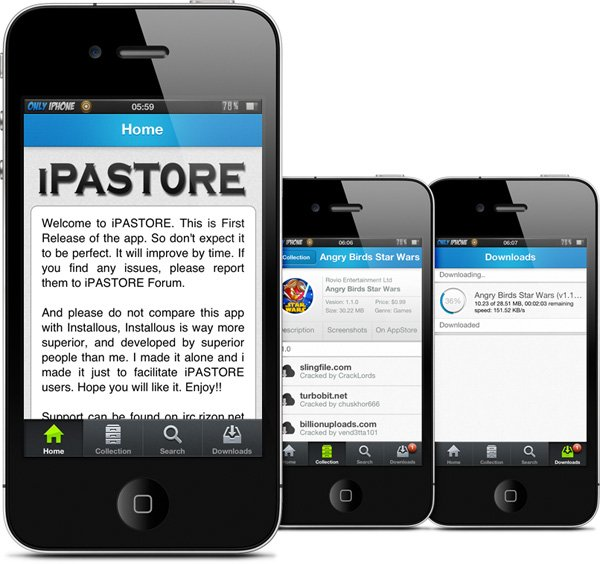 iPAStore : une bonne alternative à Installous