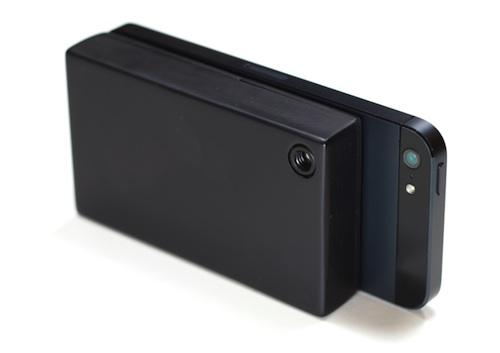 IR-BLUE : l'iPhone 5 devient caméra thermique
