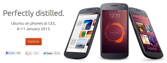 Ubuntu Mobile : le concurrent d'iOS et Android