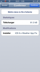 IMG 0443 169x300 - iOS 6.x Weather App Fix : Corriger le bug météo du jailbreak evasi0n