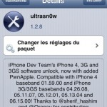 Desimlock iPhone 4 iOS 6.1 avec Ultrasn0w 1.2.8