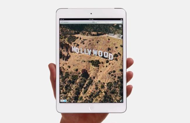 « Hollywood » : une nouvelle publicité iPad