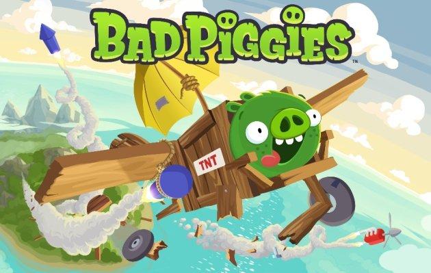 Bad Piggies gratuit une semaine sur l'App Store