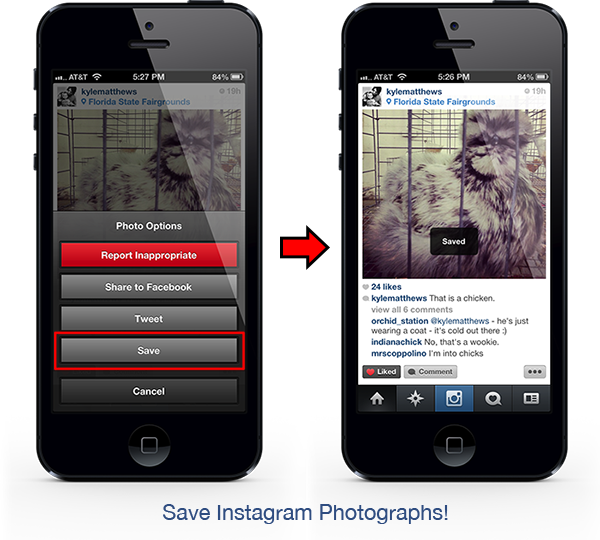 InstaSave : sauvegarder les photos de son flux Instagram
